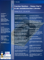 Ankündigung: 21. NeoLatina 2019 (27.-29.06.)
