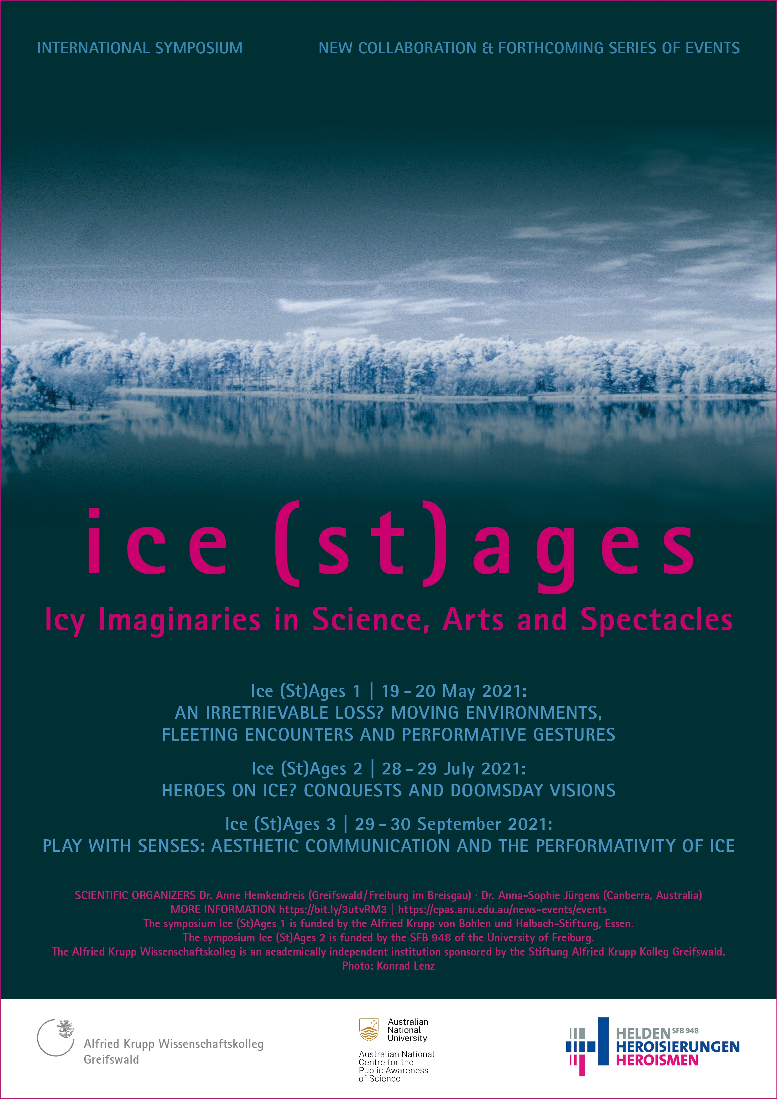 International symposium: Ice (St)Ages 1 (19. & 20. May)