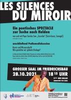 Les silences du miroir (Bühnenstück und Podiumsdiskussion)