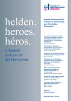 Special Issue 4 (2018) des E-Journal ist erschienen