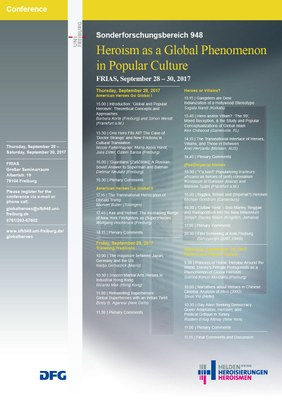 Heroism as a Global Phenomenon in Popular Culture
