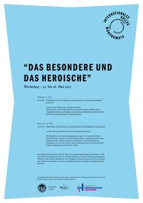 """Podiumdiskussion """"Das Besondere und das Heroische"""" im Morphomata Kolleg"""