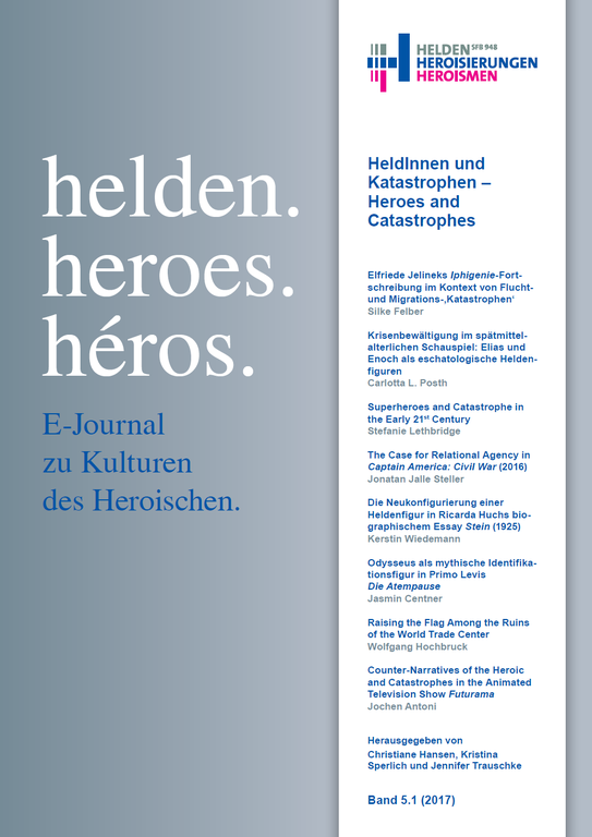 "New E-Journal Issue | ""HeldInnen und Katastrophen – Heroes and Catastrophes"""