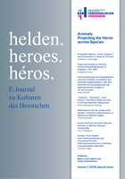 "New E-Journal Special Issue: ""Animals: Projecting the Heroic Across Species"""